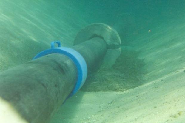 В Винницкой области найден подводный трубопровод для незаконной перекачки спирта