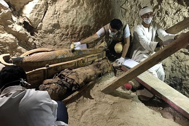 В Египте нашли гробницу фараонов Среднего царства