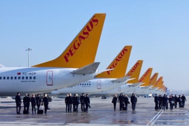 Турецкий лоукостер Pegasus запустил рейсы Киев - Анкара за $70
