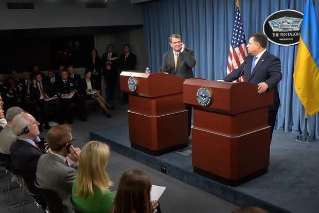 Полторак в Вашингтоне отметил уровень взаимоотношений между Украиной и США