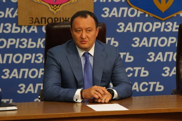 Глава Запорожской ОГА Брыль решил уволиться из СБУ