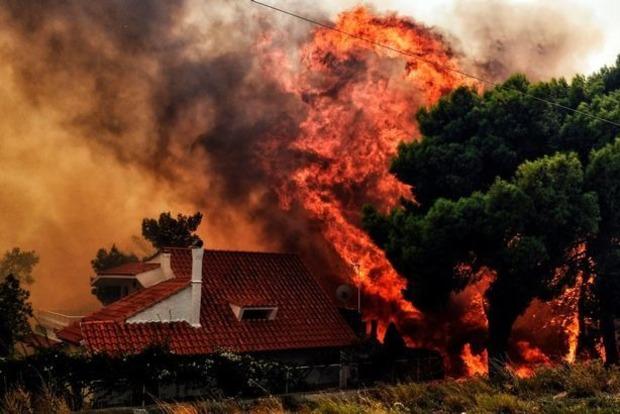 Армагеддон в Греции: в пожарах живьем сгорели десятки людей