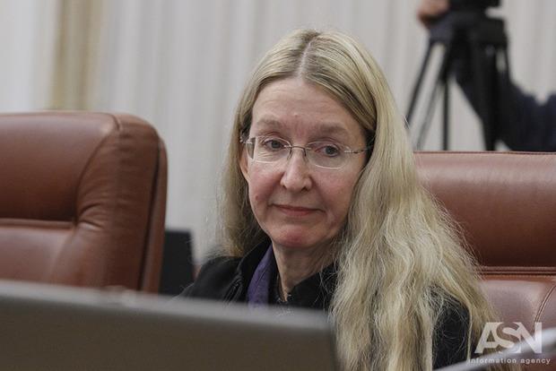 «Оппоблок» зарегистрировал проект закона об отставке Супрун