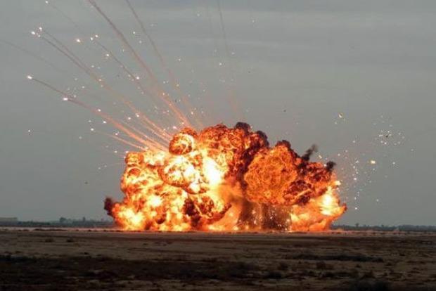 На пляже в оккупированном Крыму прогремел мощный взрыв