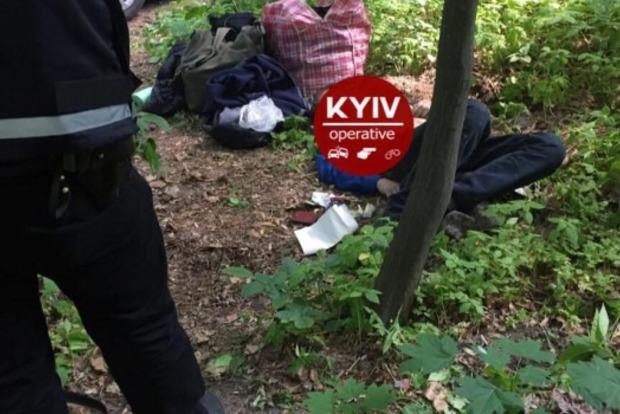 В лесопарке «Дубки» в Киеве повесился молодой человек