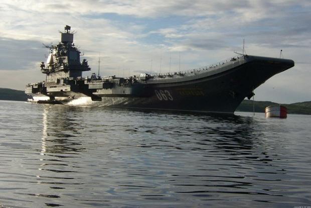 У Росії затонув єдиний док, здатний відремонтувати єдиний авіаносець