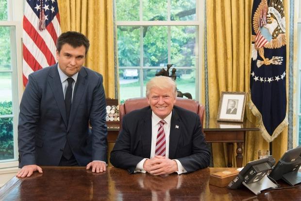 Трамп упрекнул американские СМИ в недостаточном внимании к визиту Климкина
