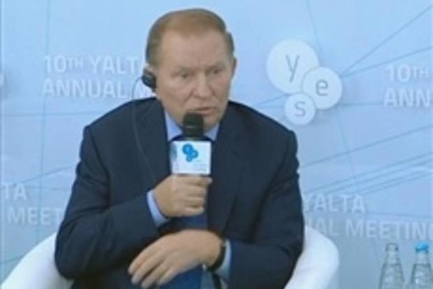 Кучма: Порошенко не сядет за стол переговоров с Захарченко
