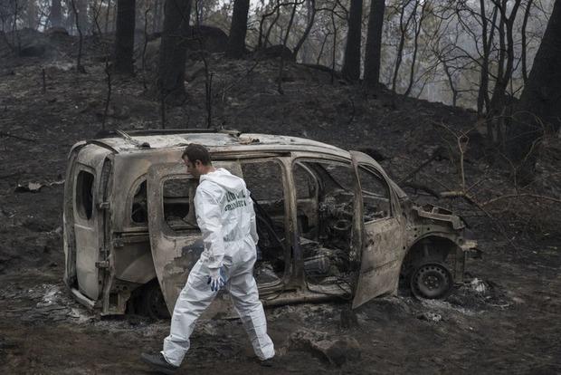 Лесные пожары в Испании и Португалии: Уже 45 погибших