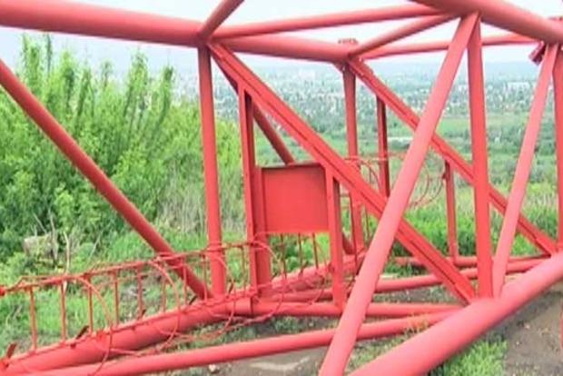 Строительство телевышки на горе Карачун продлится около трех месяцев