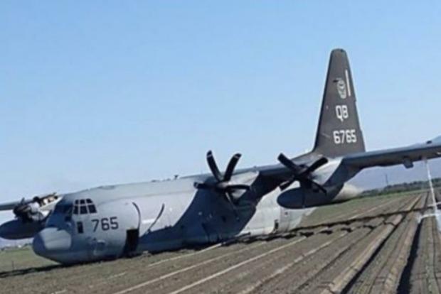 В США столкнулись два военных самолета во время дозаправки в воздухе
