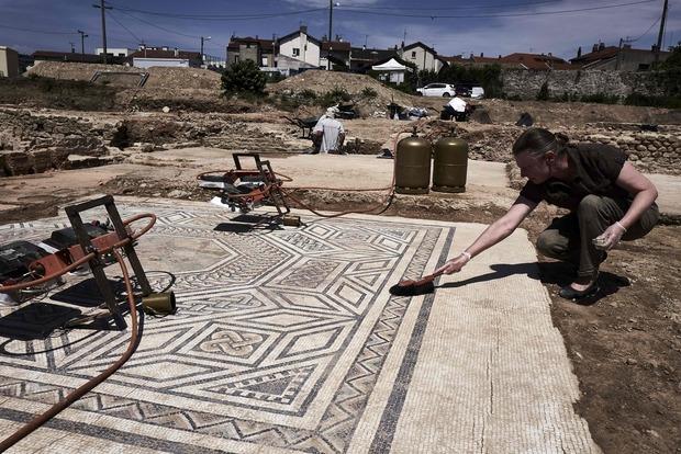 Во Франции археологи нашли «маленькие Помпеи»