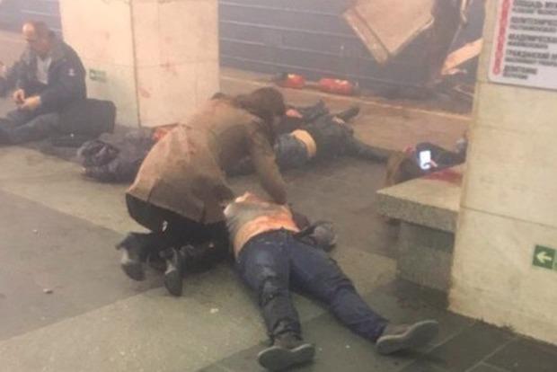В метро Петербурга прогремело два взрыва: 50 пострадавших
