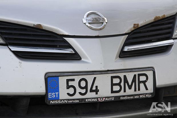 На трассе Киев-Чоп евробляхеры избили полицейских