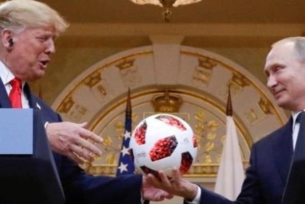 Служба безопасности Трампа проверила мяч, подаренный Путиным