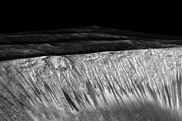 Ученые усомнились в наличии жидкой воды на Марсе