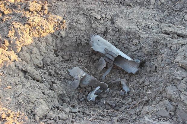 Штаб АТО показал результат обстрела боевиками из Градов Гнутово