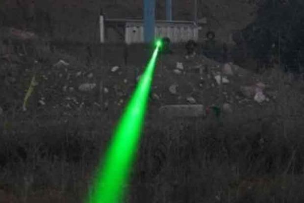Боевики на Донбассе применили лазерное оружие