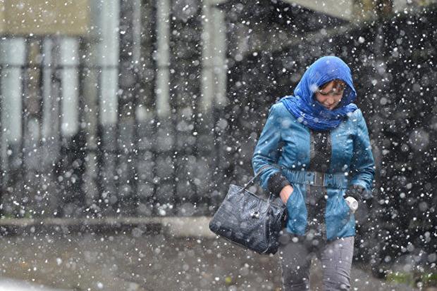 Цими днями на Івано-Франківщині очікуються опади у вигляді мокрого снігу