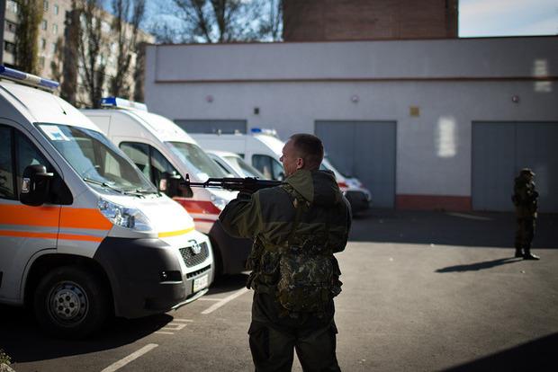 Один человек умер при взрыве вЛуганске