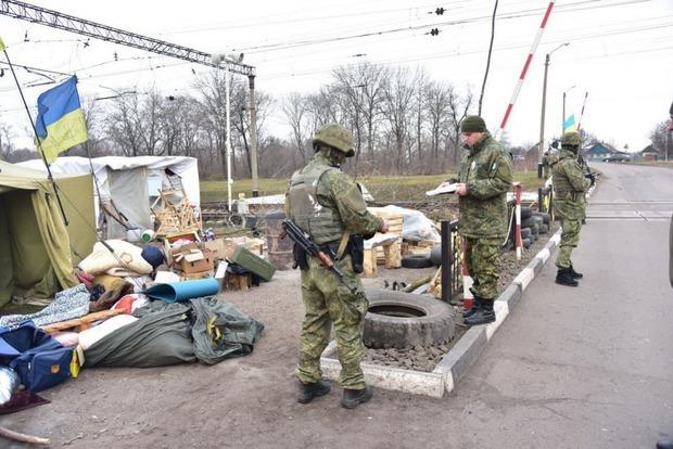 За дежурство на редуте в Кривом Торце платили 400 грн в день – полиция