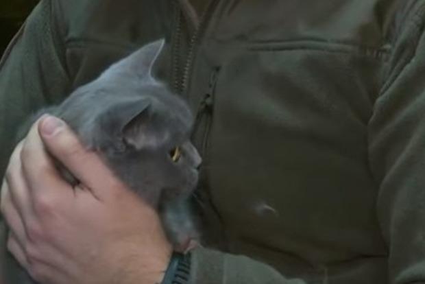 Киевский рыбоохранный патруль взял на службу кота