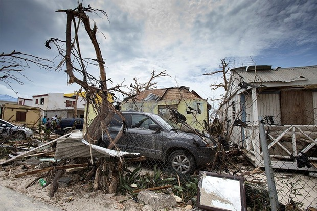 Ураган «Ирма» затопил улицы Майами