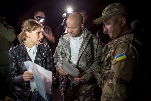 Троих украинских военных освободили из плена
