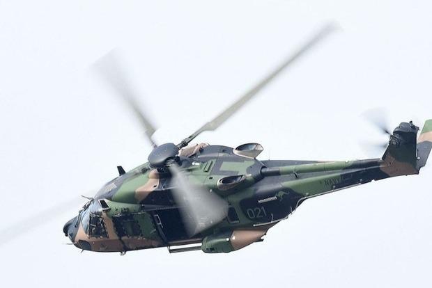 Военный вертолет США Black Hawk разбился уГавайских островов