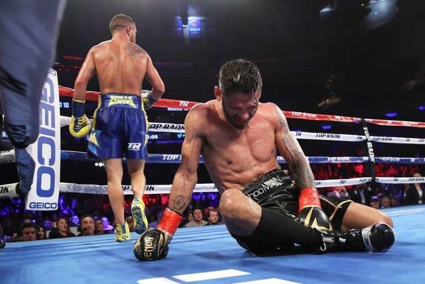 Десять раундів бою: нокдаун і один нокаут. Повне відео поєдинку Ломаченко - Лінарес