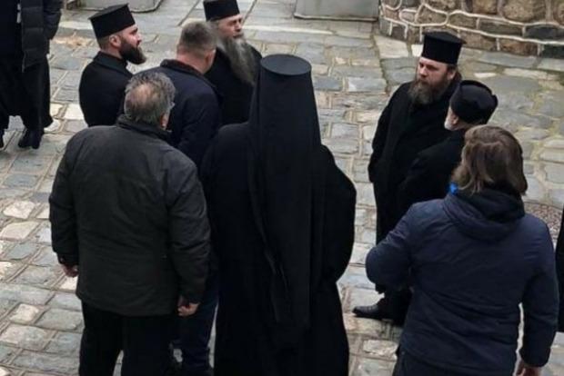 Єпископа УПЦ не пустили в «російський» монастир на Афоні