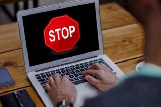 На оккупированной территории Донбасса пропал интернет