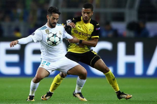 Дубль Роналду помог Реалу впервые победить в Дортмунде