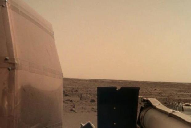 В NASA дало послушать землянам, как шумит ветер на Марсе
