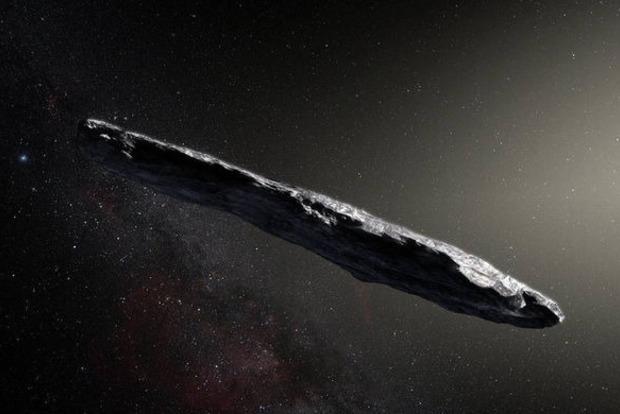 Астрономы нашли астероид-сигару в Солнечной системе