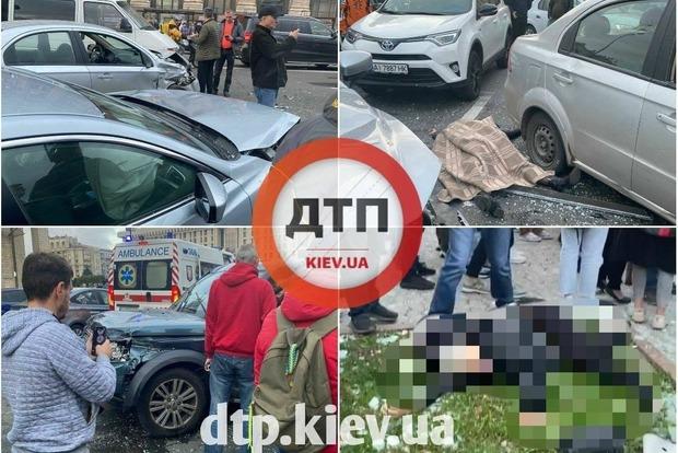 Серьезная авария на Майдане. Есть погибшие