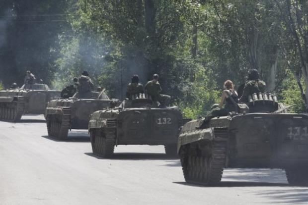 На Донбас надійшов арсенал важкого озброєння з Росії