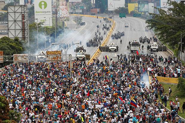 В ходе протестов в Венесуэле погибло до 16 человек
