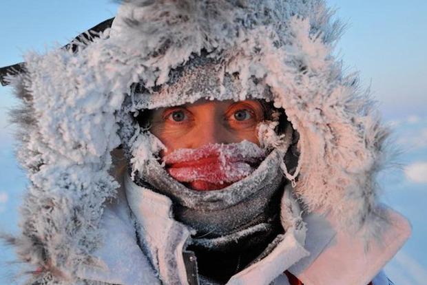 Завтра в Украине ожидаются морозы до -17 градусов
