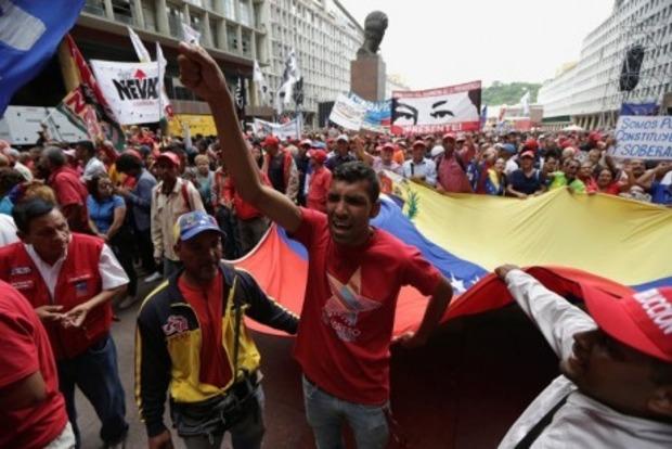 Во время протестов в Венесуэле погибли 34 человека