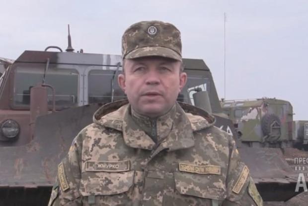 Силы АТО закончили подготовку вооружений к отводу