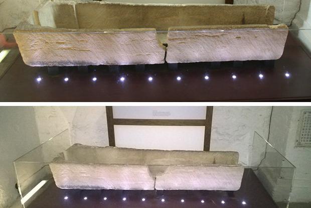В Лондонском музее родители посадили сына на 800-летний саркофаг для фото. Гроб сломался