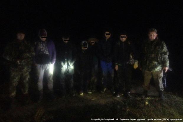 Около украинско-венгерской границы задержаны шестеро мигрантов из Сирии