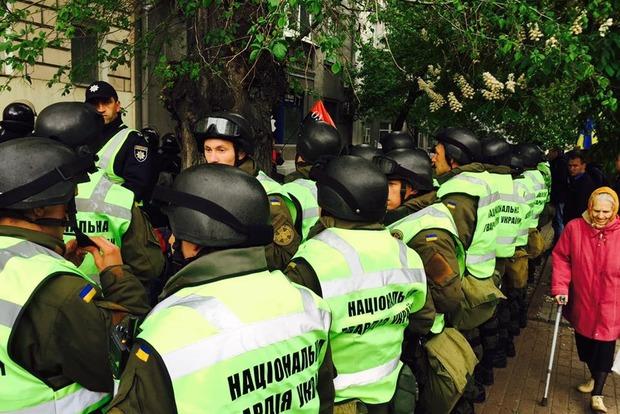 Поліція затримала в Києві 24 націоналістів, на них завели справу за «хуліганство»