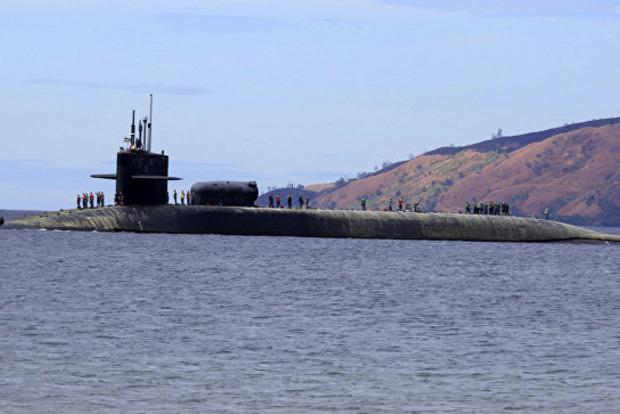 Атомная подлодка США с «Томагавками» зашла в порт Южной Кореи
