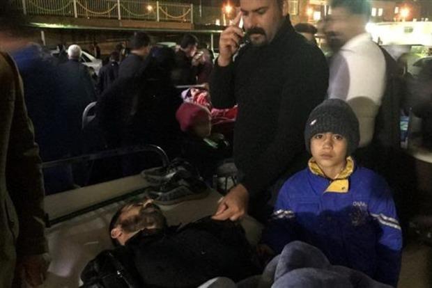 Землетрясение на границе Ирана и Ирака: около 600 пострадавших