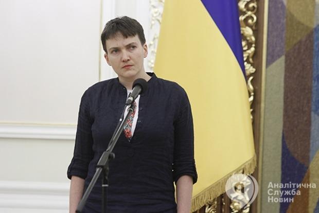 Савченко откорректировала списки пленных на Донбассе