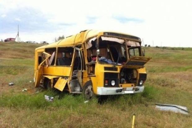 В России разбился автобус из ДНР. 4 погибших