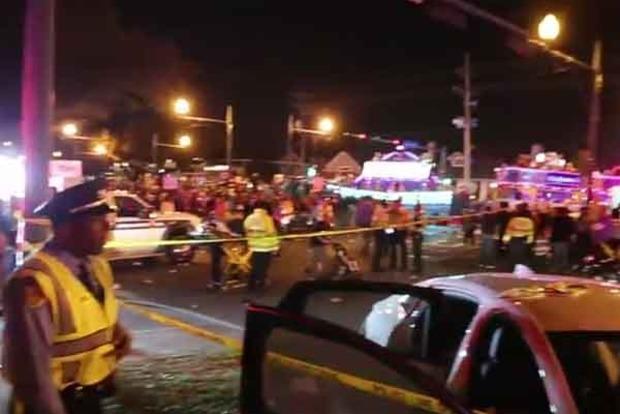 Трагедия в Новом Орлеане. Появилось видео