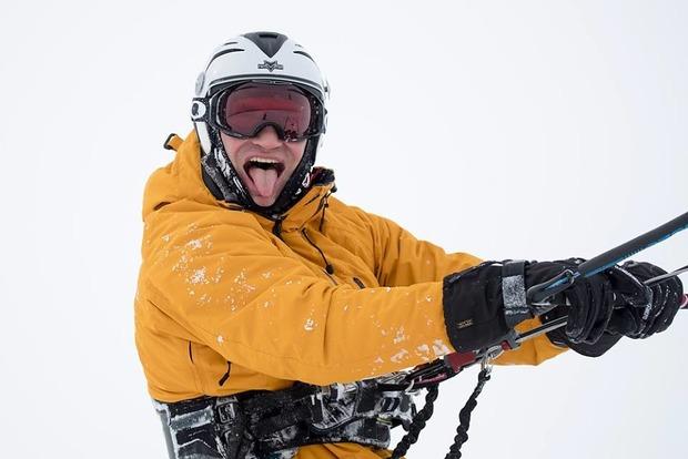 Кличко признался, что уже ненавидит снег. Забавные фото